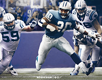 Barry Sanders vs. Carolina Panthers (Manipulation)