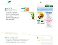 Greenline - Website e business cards