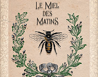 Project - Vintage Honey Label