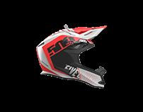 Photorealistic Product Rendering Keyshort Helmet