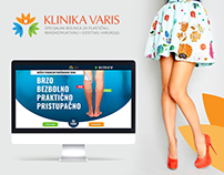 Landing Pages for the VARIS Hospital