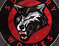 Sudbury Wolves logo design concept