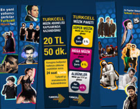 Turkcell Music Internet Site Banners