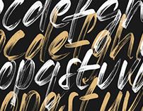 Meraki - An Expressive Opentype SVG Brush Script Font