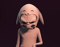 Skull Bunny