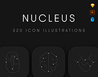 Nucleus Icon Set (+Free Version)