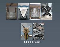 Steel Fonts