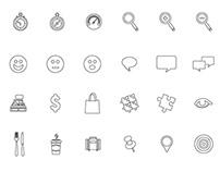 200 Icon set design for Slidevana
