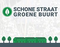 Huisstijl Stichting Schone Straat & Groene Buurt