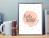Little Things - Great Moments Logo Design