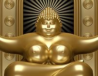 Gold Bouddha