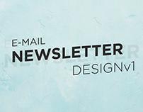 E-Mail Newsletter Design v1
