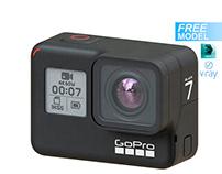 Free 3d model GoPro Hero7
