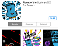 Planet of the Squirrels app