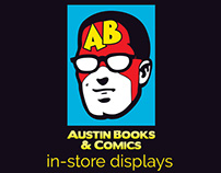 Austin Books & Comics In-Store Displays