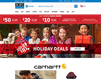 Bob's Stores - Homepage - Holiday Sale