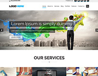 Website development company free psd design