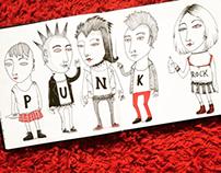 PunkRock typography