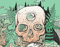 skull + fern