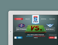 Rugby Fixtures App for WP Rugby Magazine