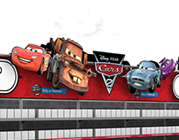 Cars 2 In-store Promo Concepts