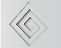 Cube decor panel