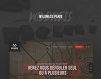 Wildness — Website, WebApp, Flyers