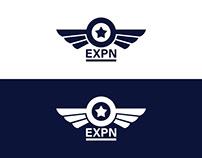 EXPN Logo Design - Flat & Minimalist Logo Design