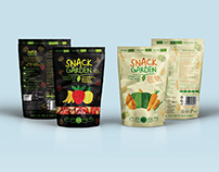Snack Garden Paper Packaging Design