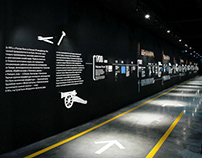 Timeline (50m) for Machine Tool Museum