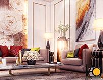 Women Majlis Design | Private Villa KSA