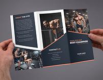 Brochure – Gym Tri-Fold Template