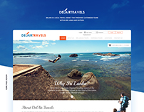 Delair Travels Web Design