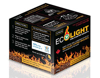 Eco Light Fire Starter Packets Packaging