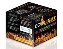 Eco Light Fire Starter Packets Packaging