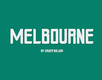 Melbourne - Free OpenType Font