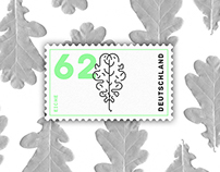 Leaf Postage Stamps (Variety Of The Nature)