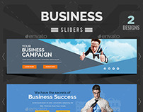 Business Sliders - 2 Designs