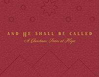 Hope Church NYC   Christmas Branding 2016