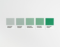 Pantone Weekdays