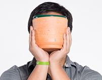 Wind Pots Noise Speakers