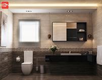 Modern Bathroom Design at con creative office