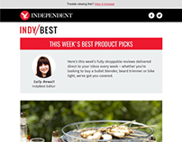 Indy/Best newsletter template