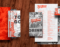 Brand Identity for Tiger Mama Restaurant, Boston, MA