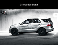 Mercedes-Benz M-Guard - Kommunikationsdesign