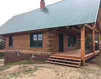 Westliffe Colorado Log Home Repair Log Restoration