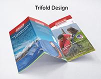 Tri-Fold Brochure Designing