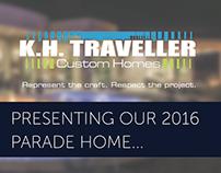 K.H. Traveller Custom Homes Parade of Homes 2016