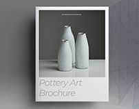 Pottery Art Brochure Template
