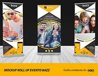 Mockup Roll Up evento Bazz ✍🏼